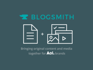 Blogsmith – AOL's Publishing CMS